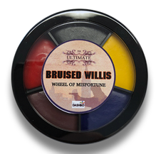 Load image into Gallery viewer, Mr Dashbo Bruised Willis Wheel of Misfortune Grease Palette