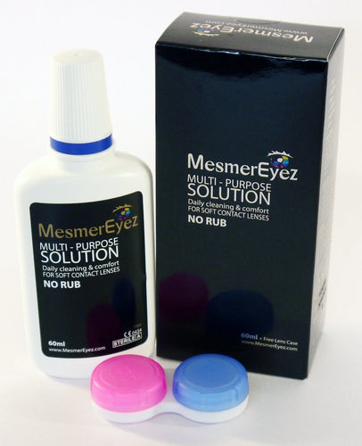 Mesmereyez Contact Lens - Multipurpose Solution Kit