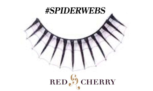 Red Cherry Lashes SPIDERS WEBS