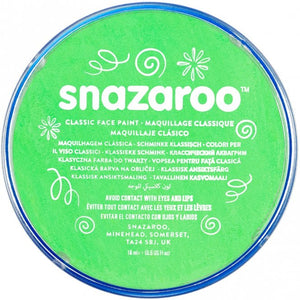 Snazaroo Classic Colours Lime Green 18ml