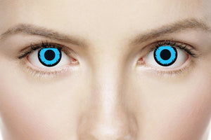 Mesmereyez 1 Day Contact Lens - Angelic Blue