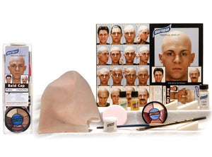 Graftobian Latex Bald Cap Complete Kit