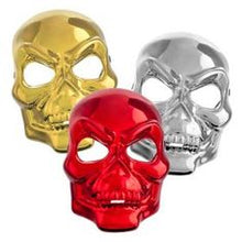 Load image into Gallery viewer, Fright Nite Icons Of Horror Skeleton Mask (Red or Silver)