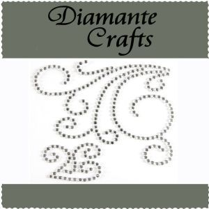 Diamante Crafts - Big Swirl