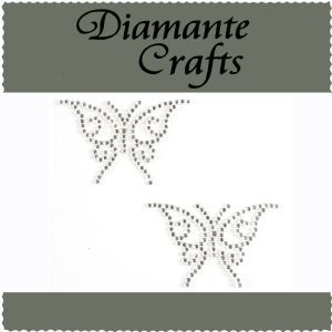 Diamante Crafts - Crystal Butterfly