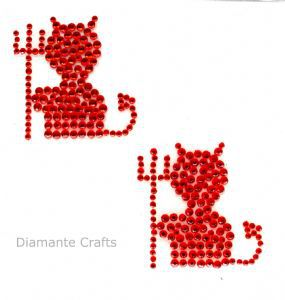 Diamante Crafts - Red Devils