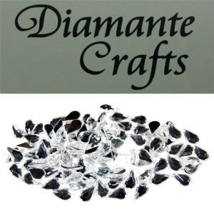 Diamante Craft - Loose Teardrops