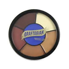 Graftobian RMG Derma & Bald Cap Wheel Cream