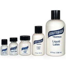 Load image into Gallery viewer, Graftobian Liquid Latex Clear 1 oz (29 ml)