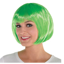 Load image into Gallery viewer, Fright Nite Neon Bob Wig