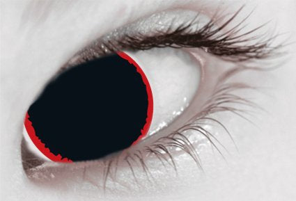 Mesmereyez 1 Day Contact Lens - Hell Raiser