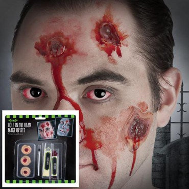 Fright Nite Hole In The Head Make Up Kit