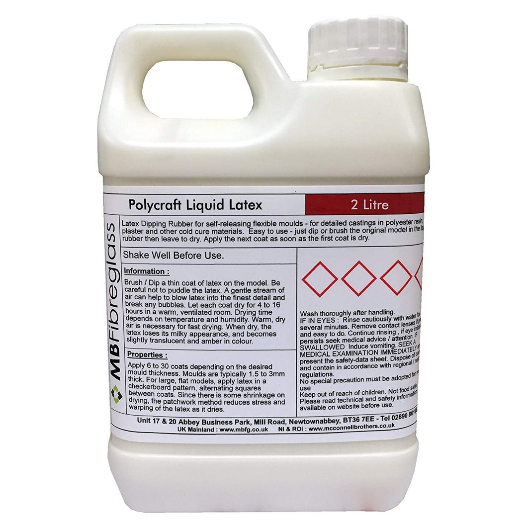 Polycraft Liquid Latex 2 Litre