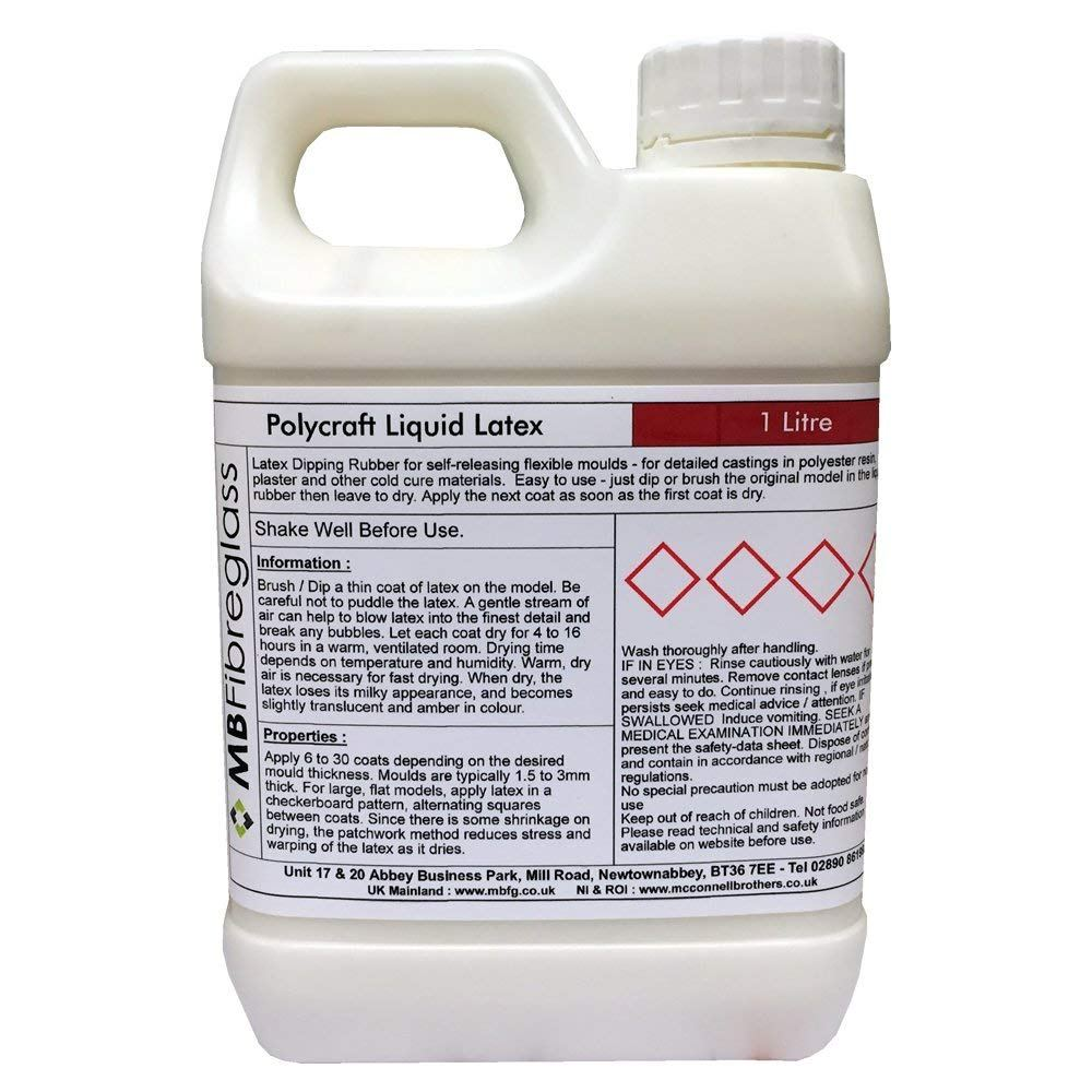 Polycraft Liquid Latex - 1 Litre