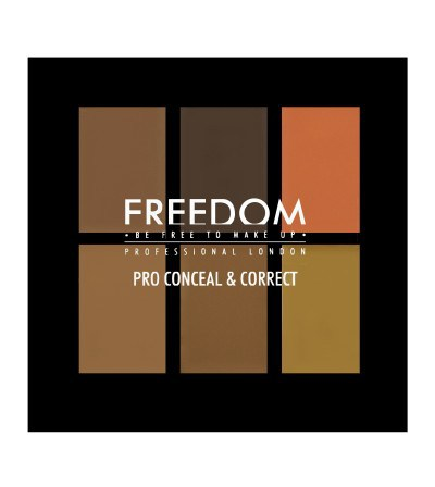 Freedom-Pro Conceal and Correct Pallete | Dark