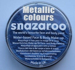 Snazaroo Metallic Colours Electric Blue 18ml