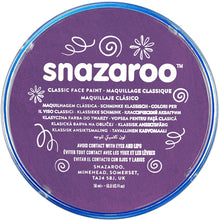Load image into Gallery viewer, Snazaroo Metallic Colours Electric Purple Paint 18ml