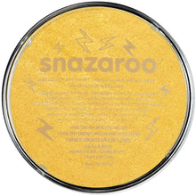 Load image into Gallery viewer, Snazaroo Metallic Colours Gold Paint 18ml
