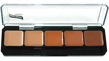Load image into Gallery viewer, Graftobian HD Glam Creme Palette Warm #3