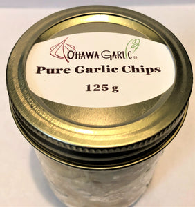 Pure Garlic Chips - 150g Bags