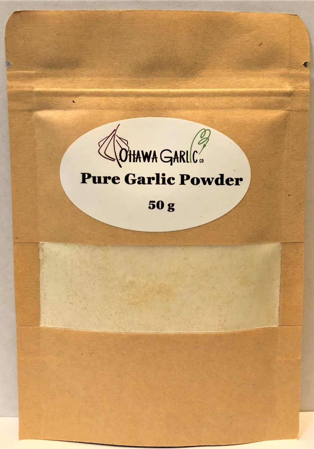 Pure Garlic Powder - 50g Pouch