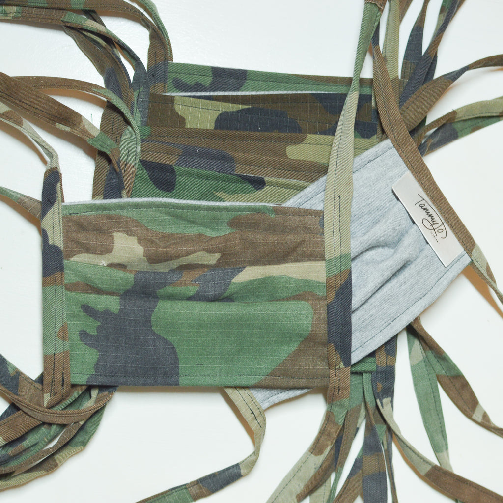TJF Mask - Camo   [ 10 PACK ]
