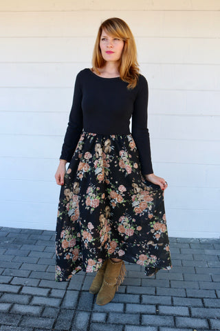 Sunday In The Park Ginger Maxi Dress