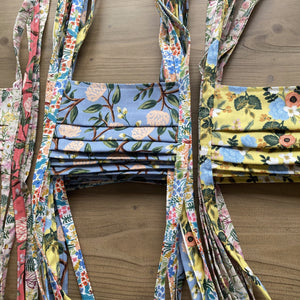 TJF Mask - Rifle Paper Co Floral [ 10 PACK ]