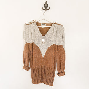 Stunning Vintage Beaded Pullover Sweater