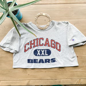 TJF Cropped Tshirt Chicago Bears