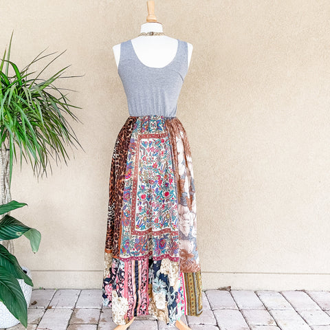 The Original TJF Scarf Dress - Simple Boho Romantic Maxi