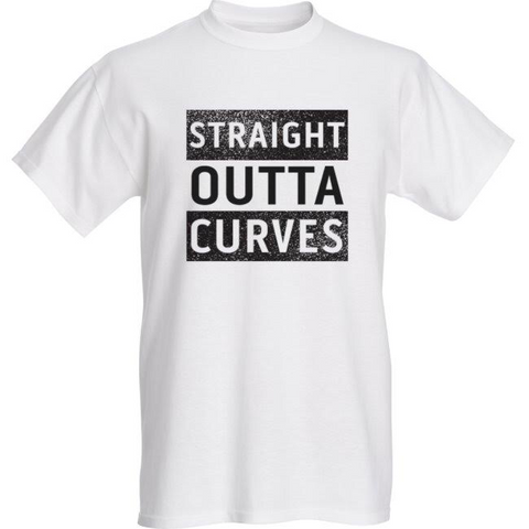 Unisex Plus Size Straight Outta Curves Tee