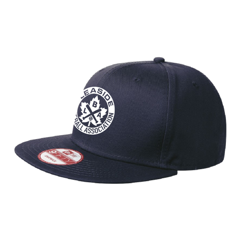 LBA Flat Cap – New Era (Navy)
