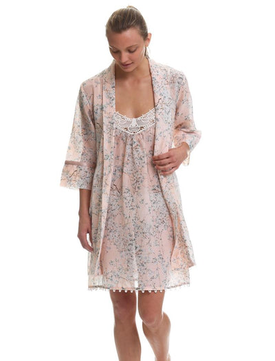 Cherry Blossom Peach Nightie