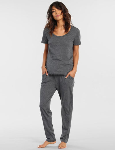 Classic Knit Pant Charcoal