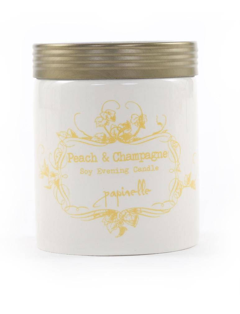 Soy Candle Peach & Champagne