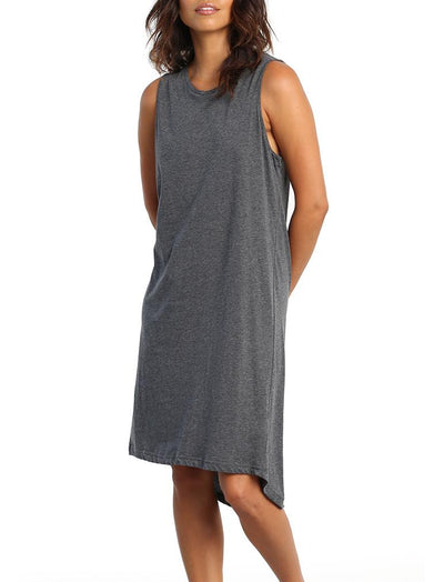 Classic Nightie Charcoal