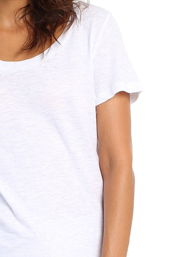 Basic Tee in White