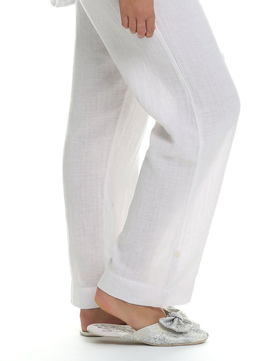 Organic Cotton Soft Blush PJ Pant