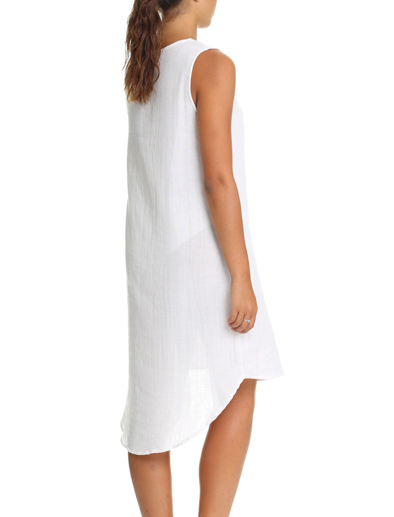 Organic Cotton Soft Blush Long Nightie