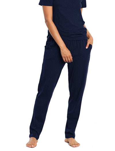 Classic Knit Pant Navy