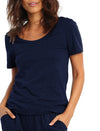 Basic Tee in Navy