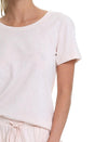 Basic Tee in Soft Pink