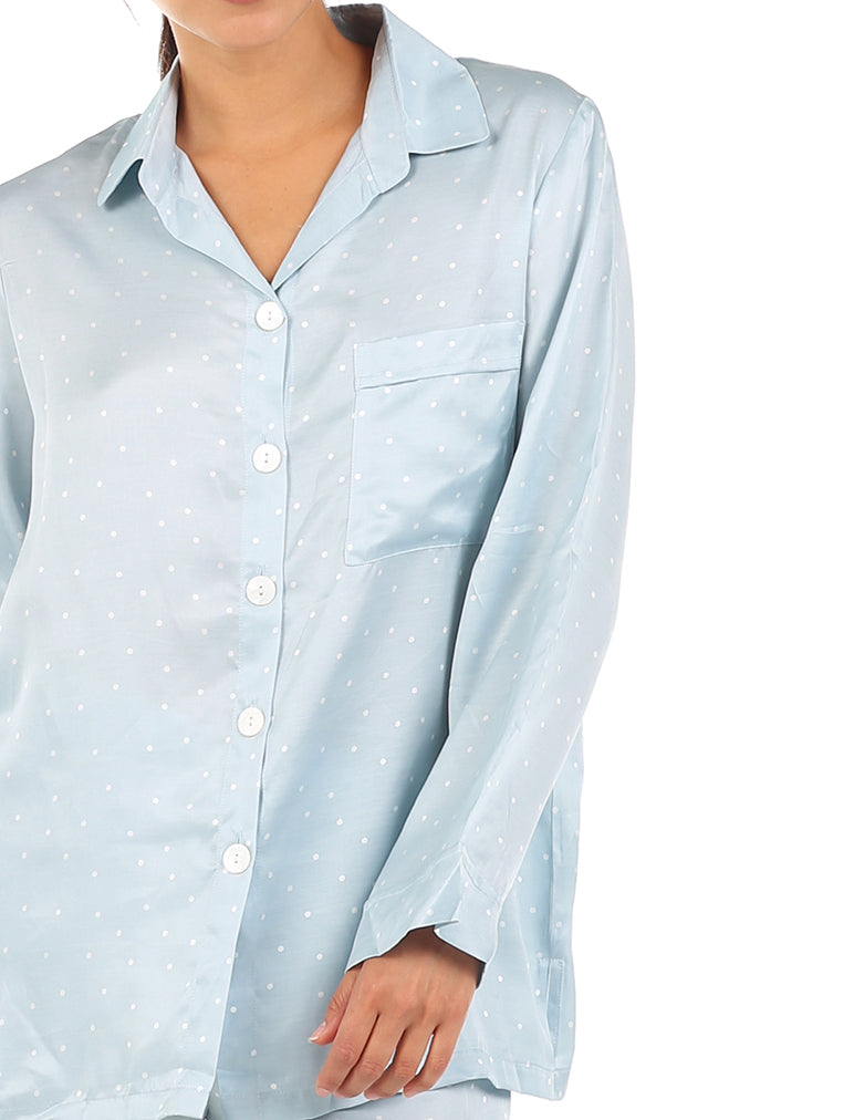 Blue Spot Luxe PJ Set