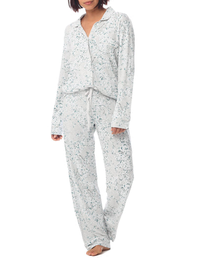 Cherry Blossom Grey Modal Soft Kate PJ