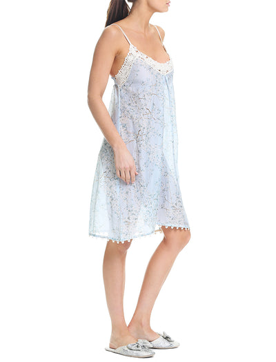 Cherry Blossom Blue Nightie
