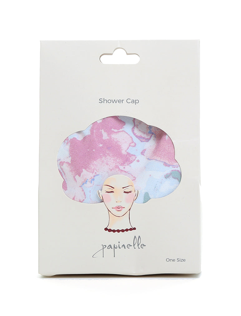 Boxed Classic Shower Cap in Cate