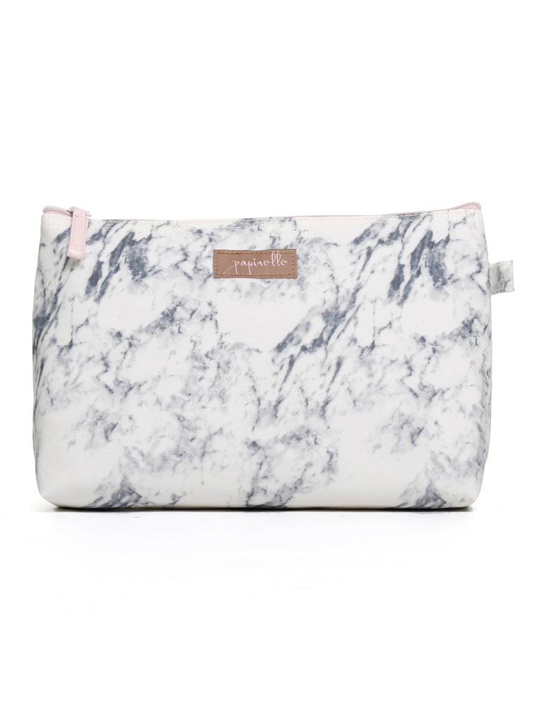 Marble Cosmetic Bag Medium