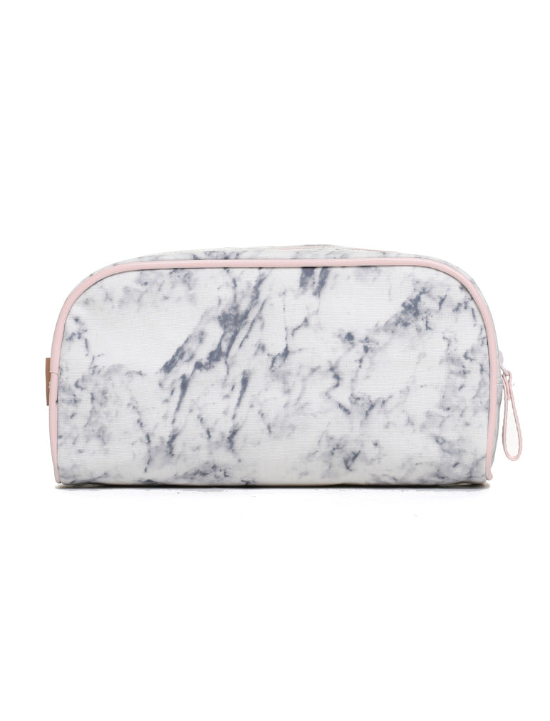 Small Cosmetic Bag in Marble