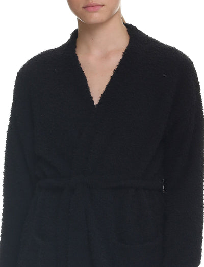 Cozy Knit Cardigan in Black